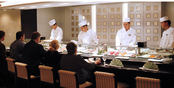 Crystal Serenity sushi bar